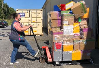 Walmart donates School Supplies to RCSEF