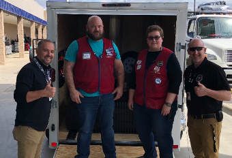 Lowe's Donates to RCS Backpack Program